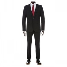 2014 Summer Top Quality New Style Wedding Occsaion Two Pieces Black Wholesale Men Suits