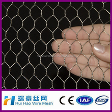 16 gauge galvanized hexagonal wire mesh