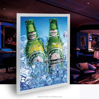 Wholesale display poster led waterproof outdoor picture frames