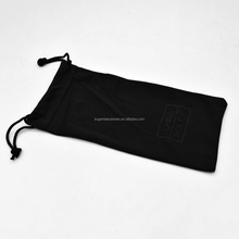 Wholesale Custom Logo Printed Cheap Microfiber Carrying Soft sunglasses eyeglasses pouch case