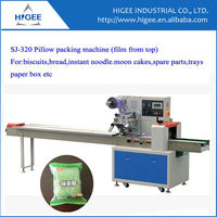 SJ Pillow packing machine 2014 New Manufacturer in Shanghai map packaging machine