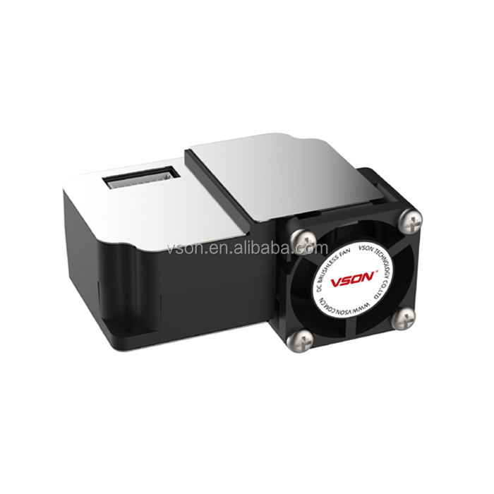 Factory dust particle concentration PM2.5 laser sensor , Fog detection