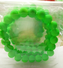 New Products 2017 Bracelet Hadmade 10mm Green Pearl Bead Festival Bracelets