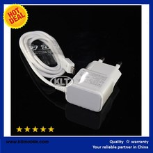 2016 Hot sale Original OEM Power Adapter N9100 2.1A EU Wall Charger with 1.5M USB Data Cable