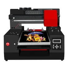 Free shipping RF3360 High speed 6color CMYKWW Inkjet Portable digital tshirt printer