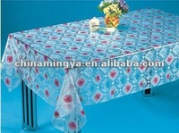 Factory Directly Sale Transparent Vinyl Tablecloth