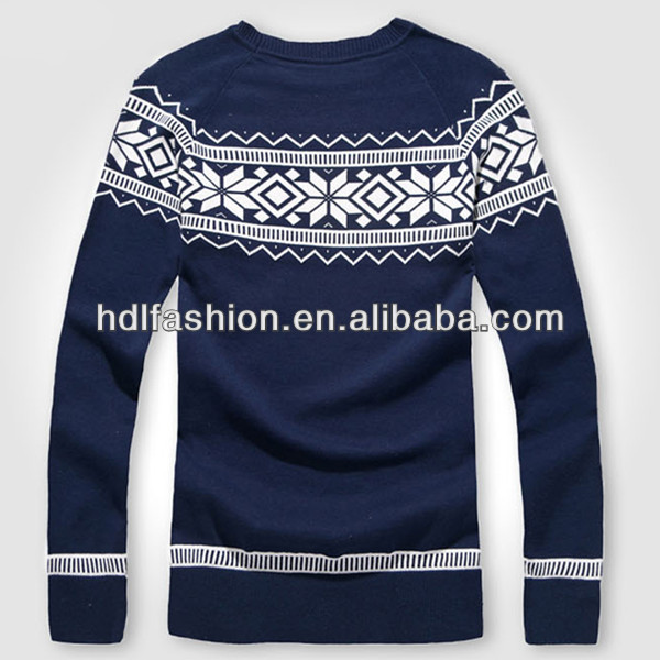Latest chirstmas hand knitted wool sweaters