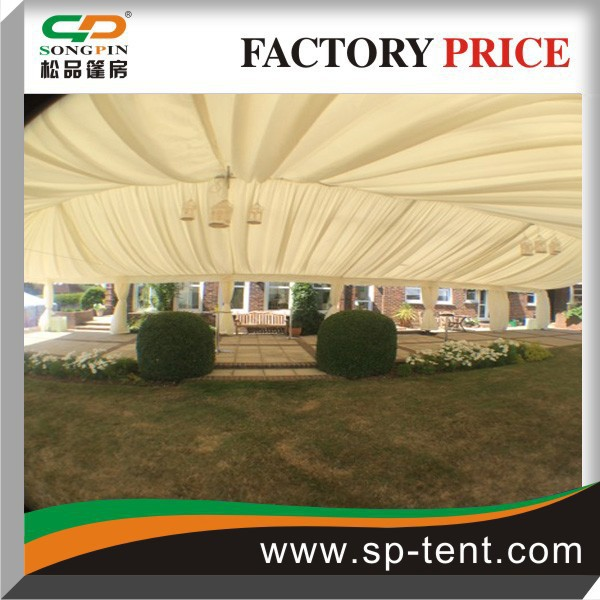 25X40 fireproof big outdoor winter cold weather stretch tents for wedding and events