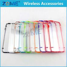 Low Price Cell Phone Accessory For IPhone4 Transparent Crystal Clear Hard TPU Back Cover/Case
