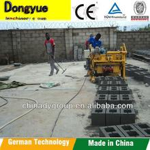 Cement Brick Raw Material interlocking brick machine/ Price list of concrete block making machine