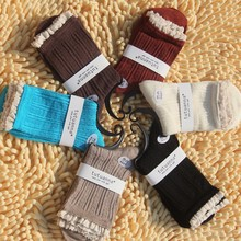 Socks Manufacturers Wholesale Japan Fashion Bamboo Tube Stocking With Several Colors Cotton sk2004