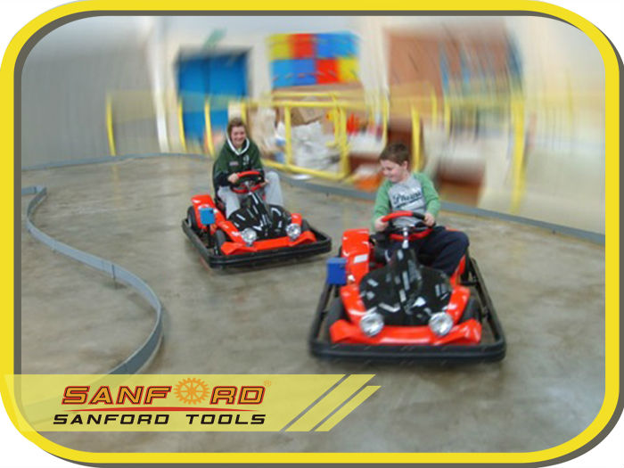 Electric Kids Go Cruise/Kart with Safety Bumpers