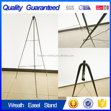 Green wire easel tripod stand