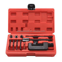 Auto Tool ATV/Cam/Bike/Motorcycle Chain Cutter Alignment Breaker and Riveting Spinner Tool Set for Drive-sizes 428/520/530