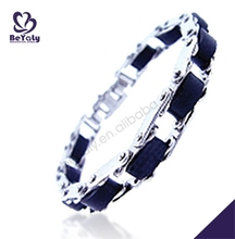 Christmas gift 316L stainless steel gothic bracelet ring set cuff