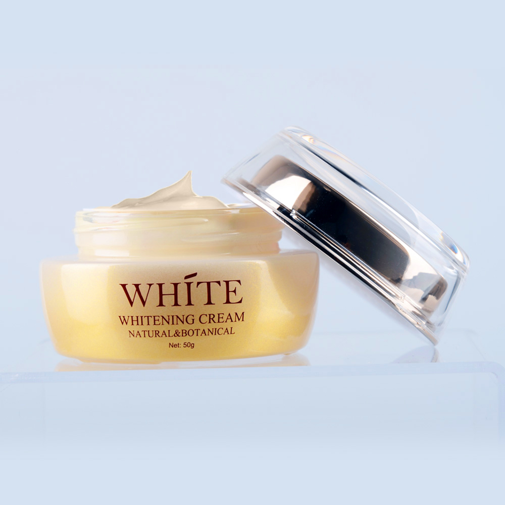 Brand name 100% Natural 50g skin face cream for whitening&lightening skin white face cream