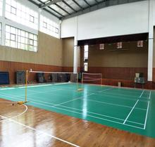 Various types sound absorbing used sport badminton court flooring / carpet / mat