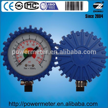 Air Tire Inflator with gauge 2.5 inch diameter bottom type scale 12 bar or customized