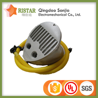 foot operated air pump for inflatable boat