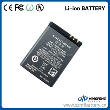 3.7V 870mAh mobile phone battery BL-5BT for Nokia in stock