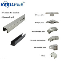 316L Stainless Steel Top Handrail For