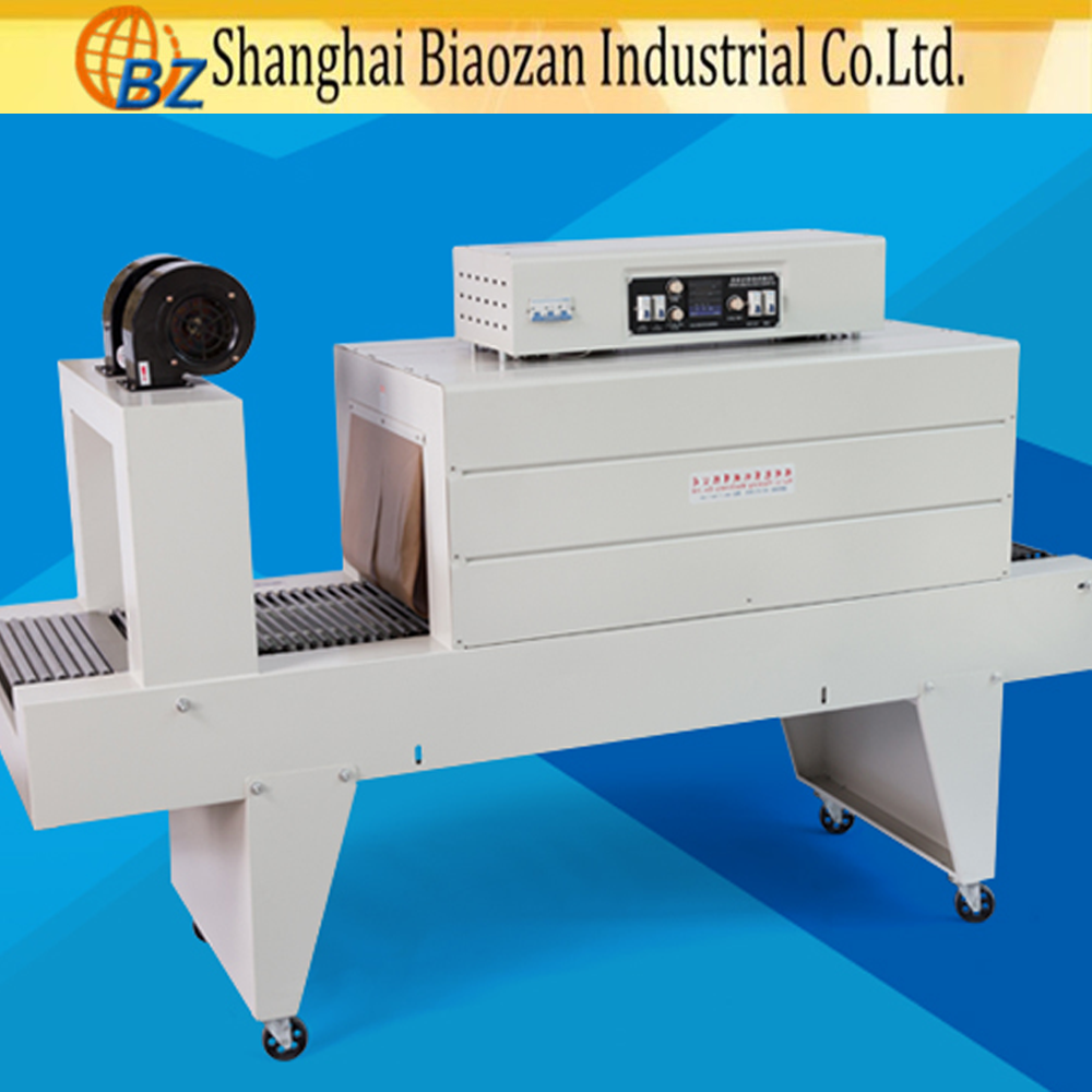 Automatic Plastic Bottle Pe Film Heat Tunnel Shrink Packing Machine