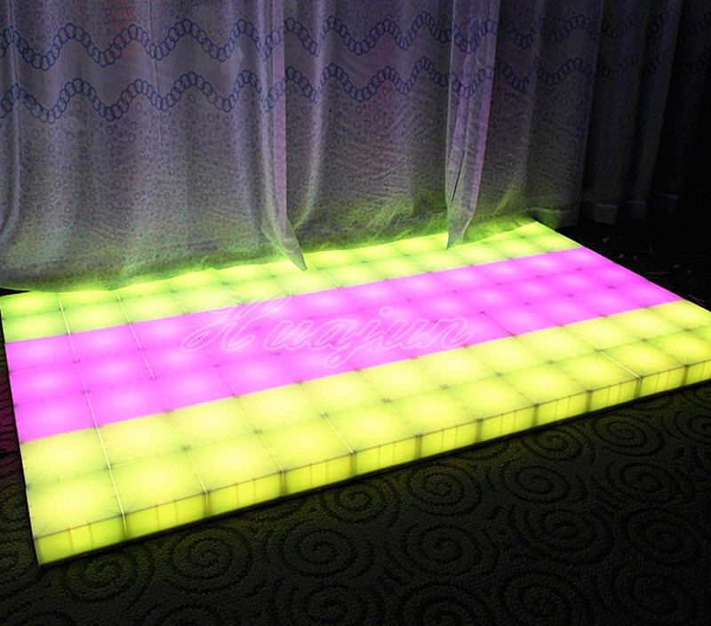 Portable Color changeable Led dance floor wholesale