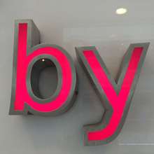 Custom LED letters sign for famous brand names logos