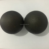 Cast High Chrome Iron Ball Forged Steel Grinding Media Balls for Mining Mills