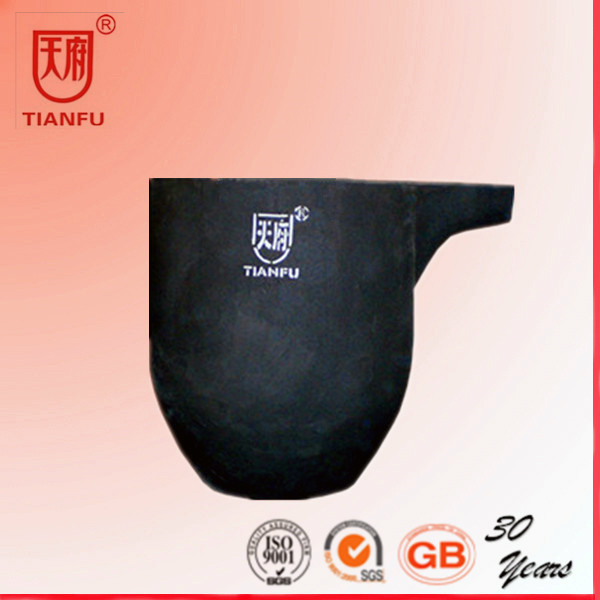 High Quanlity Clay Gold Melting Refractory Graphite Crucible For Sale