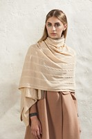 soft suede leather shawl with great price