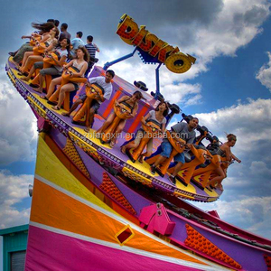 Hot sale popular amusement park equipment Mega Disk'o, Flying UFO Thrill Ride For Sale