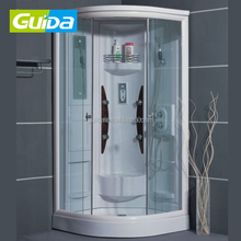 Guida brand 2018 900*900mm single whirlpool spa massage hot sale bath steam shower room cabins