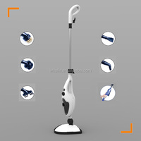 Household Deluxe Steam Mop triangular head steam cleaner with adjustable steam