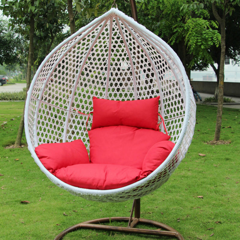 Outdoor furniture freestanding chair garden chair single seat swing chair buy single seat - Garden furniture swing seats ...