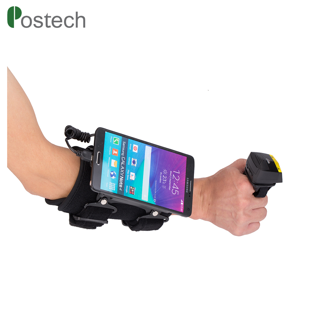With Wearable Armband Data Terminal Bluetooth Ring Finger Barcode Scanner