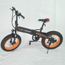 SY-209 Cheap 250W Brushless Motor 20 Inch Electric Fat Bike Folding Fat Tire Ebike Snow Bicycles Electric dirt Bikes for Adults