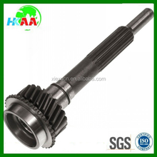 all kinds of transmission stainless steel cold forged spline shaft