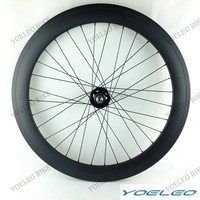 Cheap Chinese track carbon wheels 38mm tubular carbon fiber wheels fixed gear for track cycling