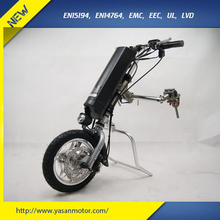 250W Wheelchair Attachments Electric Handcycle For Elderly With 36V 11Ah Battery