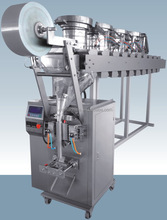 Automatic bag froming, filling sealing screw Sachet Packaging Machine FFS