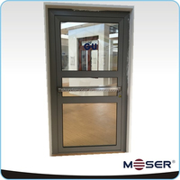 Thermal break aluminum alloy Escape door Security door