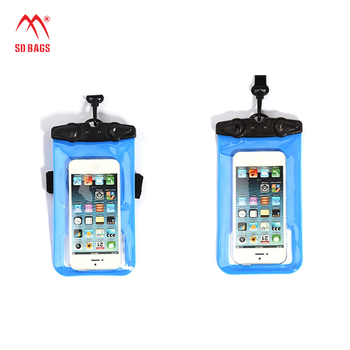 PVC Material Compatible Brand waterproof pouches for mobile phones(SD-WB-062)