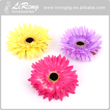 Top fashion fabric flower for wedding decoration