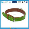 Elastic Soft Simple Leather Dog Collar with metal buckle
