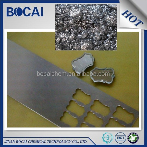 silver color aluminum paste pigment for pvc plastic coating usage