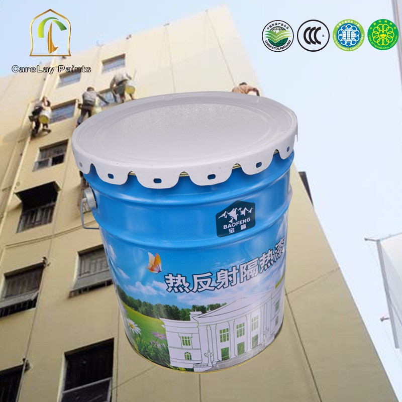 Heat resistant insulation nonstick wall coating for bedrooms