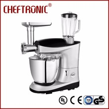Kitchen ChefTronic aid home use dough mixer kneading machine 3 in 1 best food mixer with blender grinder scale