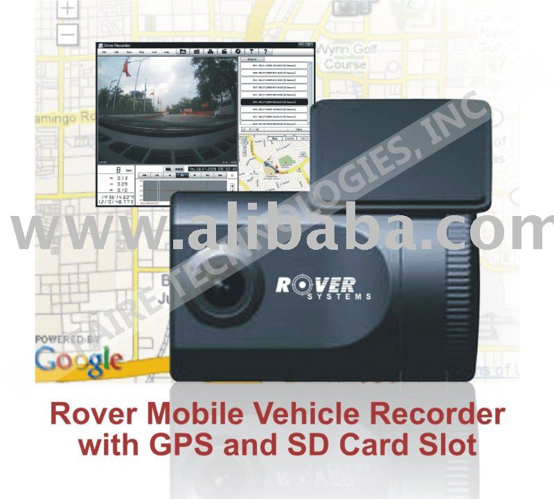 Mobile Vehicle Recorder with GPS and SD Card Slot