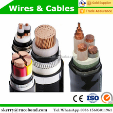 high voltage armoured copper copper armored xlpe insulation power cable